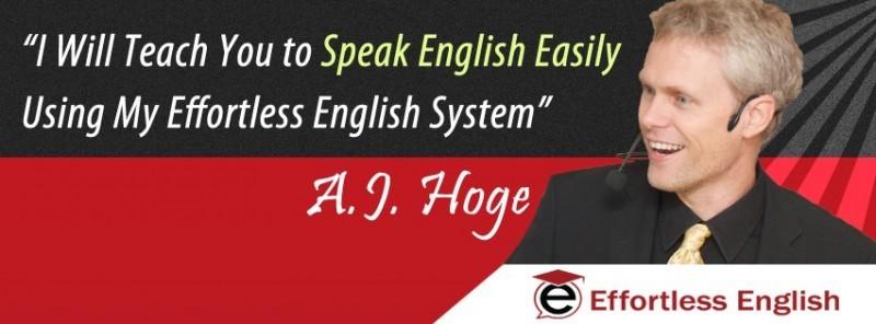 День 43. Учим английский, как дети с нуля или пару слов про A.J.Hoge и его метод.