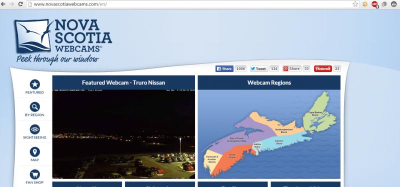 День 114. Воскресный отдых или веб камеры Новой Скотии.