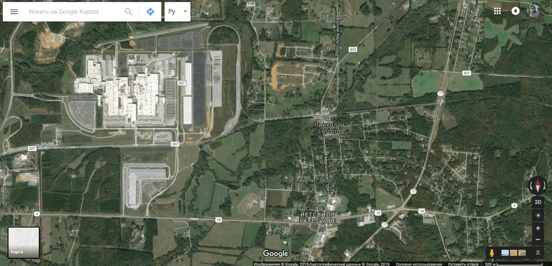 Вот чуток подальше.. Рядом большой промышленный комплекс